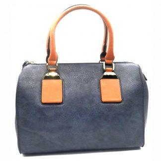 Bolsa Feminina Baú Azul Haimashi